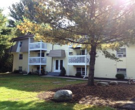Newly renovated Country Manor Apartments in Northeast CT